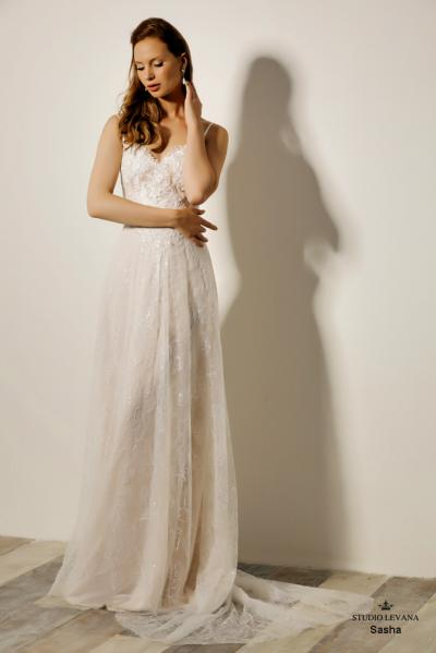 Israely wedding designer infinty collection Sasha (2)