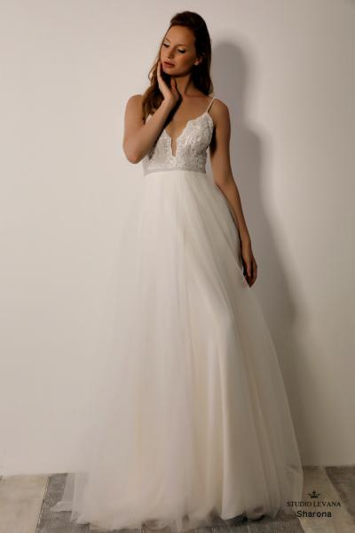 Israely wedding designer infinty collection Sharona (1)