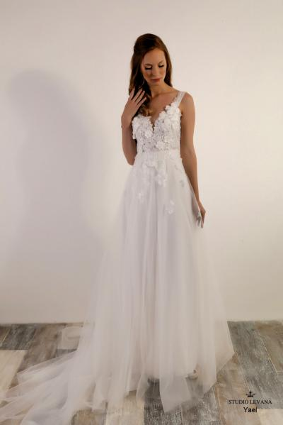 Israely wedding designer infinty collection Yael (1)