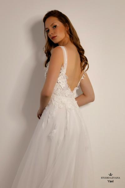 Israely wedding designer infinty collection Yael (6)