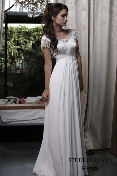 Modest wedding gown Pastel collection  (11)