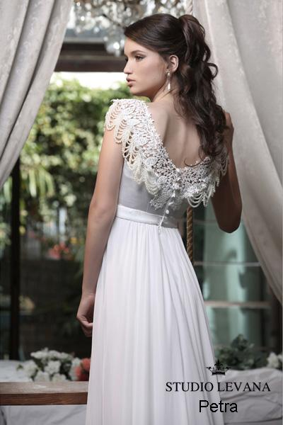 Modest wedding gown Pastel collection  (12)