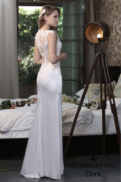 Modest wedding gown Pastel collection  (5)