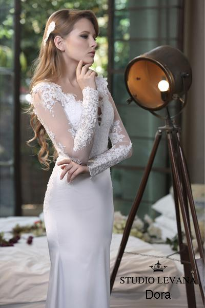 Modest wedding gown Pastel collection  (6)