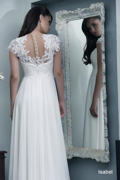 Modest wedding gowns 2015 isabel (1)