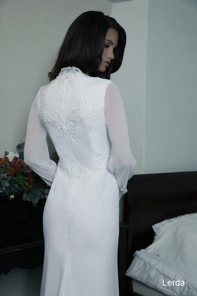 Modest wedding gowns 2015 lerda (2)