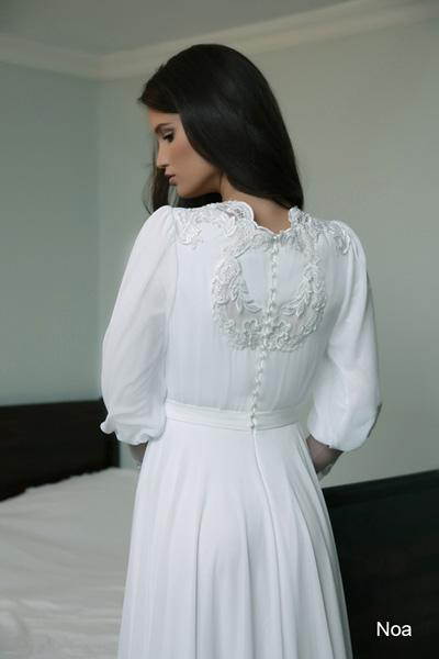 Modest wedding gowns 2015 noa (2)