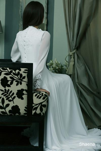Modest wedding gowns 2015 shaena (2)