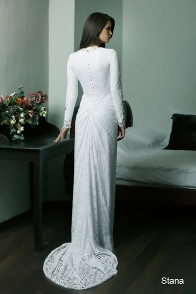 Modest wedding gowns 2015 stana (4)