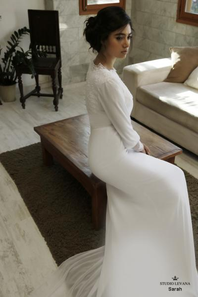 Modest wedding gowns 2016 sarah (3)