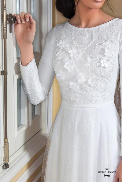 Modest wedding gowns 2017 hen (1)