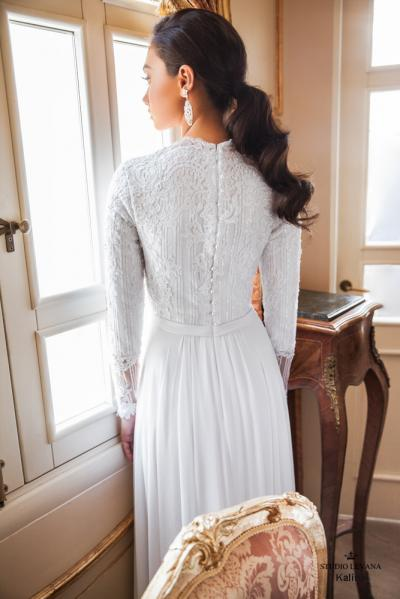 Modest wedding gowns 2017 kalina (1)