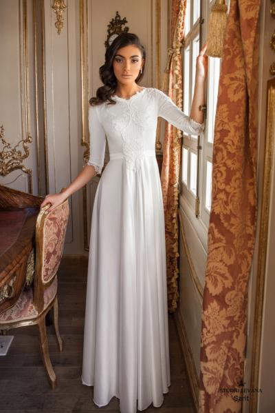 Modest wedding gowns 2017 sarit (3)