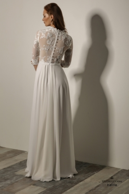 Modest wedding gowns 2018 Kalina (2)