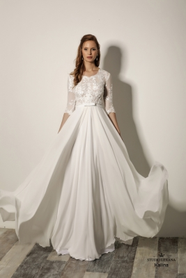Modest wedding gowns 2018 Kalina (4)