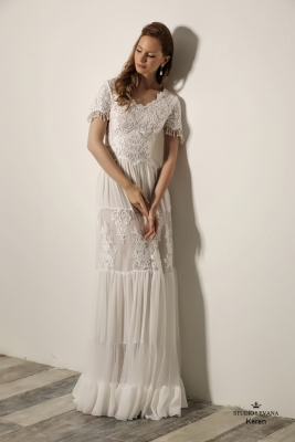 Modest wedding gowns 2018 Keren (3)