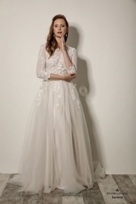 Modest wedding gowns 2018 Serena (3)