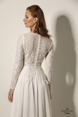 Modest wedding gowns 2018 Topaz (1)