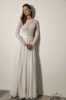 Modest wedding gowns 2018 Topaz (3)
