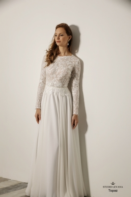 Modest wedding gowns 2018 Topaz (4)
