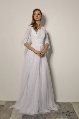 Modest wedding gowns 2018 Trish (2)