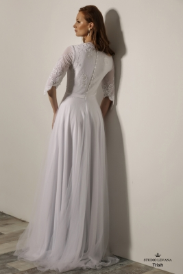 Modest wedding gowns 2018 Trish (4)