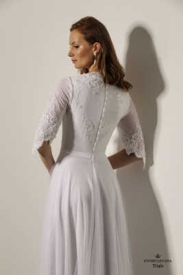Modest wedding gowns 2018 Trish (5)