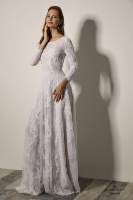 Modest wedding gowns 2018 Verona (1)