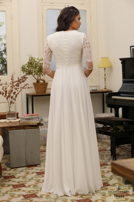 Modest wedding gowns Tereza (2)