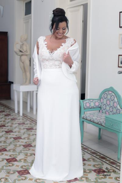 Plus size wedding gowns 2016 dekel (1)