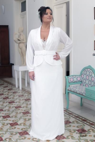 Plus size wedding gowns 2016 dekel (4)