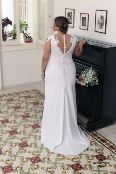 Plus size wedding gowns 2016 efrat (2)