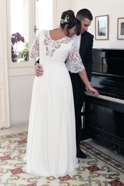 Plus size wedding gowns 2016 hofit (2)