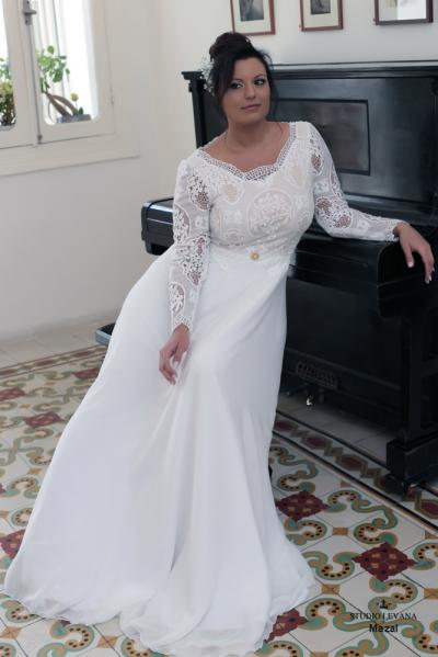 Plus size wedding gowns 2016 mazal (3)