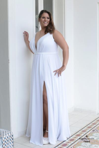 Plus size wedding gowns 2016 yarit (1)