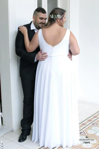 Plus size wedding gowns 2016 yarit (2)