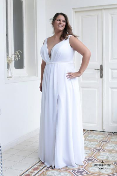 Plus size wedding gowns 2016 yarit (3)