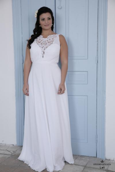 Plus size wedding gown-Blue  (1)Lally (2)