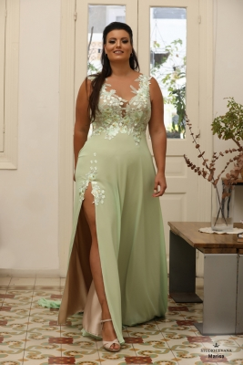 Plus size oscar evening gown Marisa
