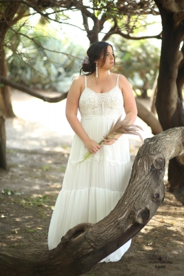Plus size boho wedding dress Agata-(3)