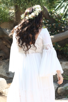 Plus size boho wedding dress Alena-(6)