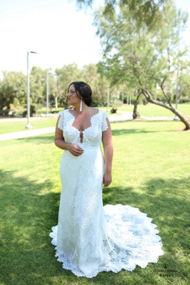 Plus size boho wedding dress Esme-(1)