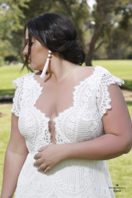 Plus size boho wedding dress Esme-(3)