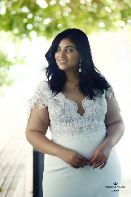 Plus size boho wedding dress John-(2)