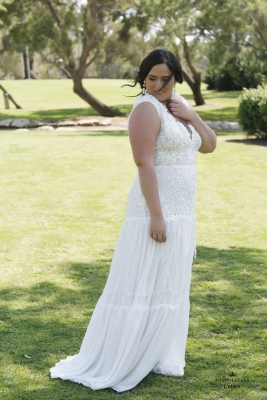 Plus size boho wedding dress Lotem-(2)