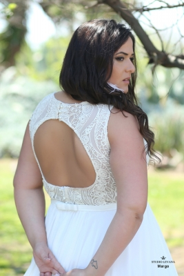 Plus size boho wedding dress Margo-(4)