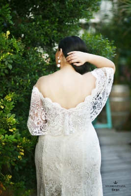 Plus size boho wedding dress Sean-(3)