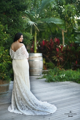 Plus size boho wedding dress Sean-(4)