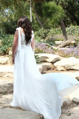 Plus size boho wedding dress Solar-(2)