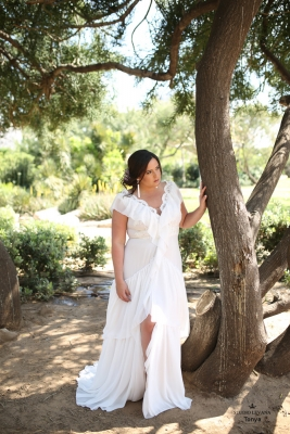 Plus size boho wedding dress Tonya-(1)